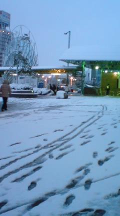 積雪15センチ!やっぱり雪女です。。