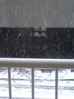 しんしんと...降り積もる...雪のおと。